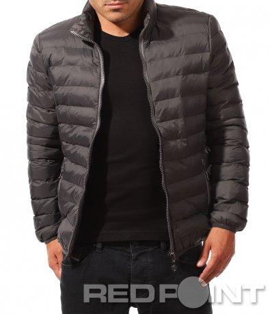 Тънко есенно яке без качулка 8244
